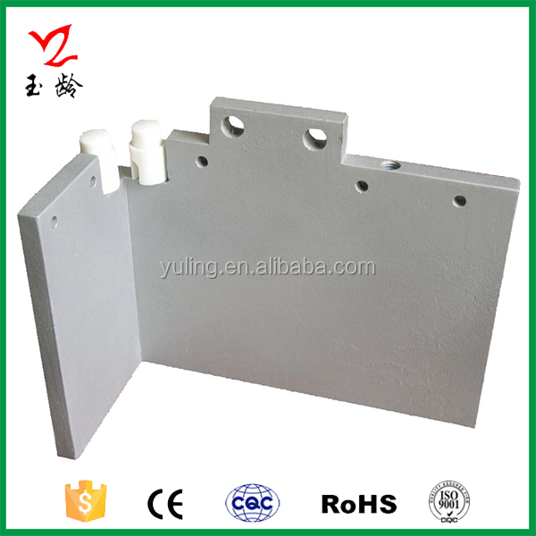 Aluminum Teflon Die Casting of Heating Tubes