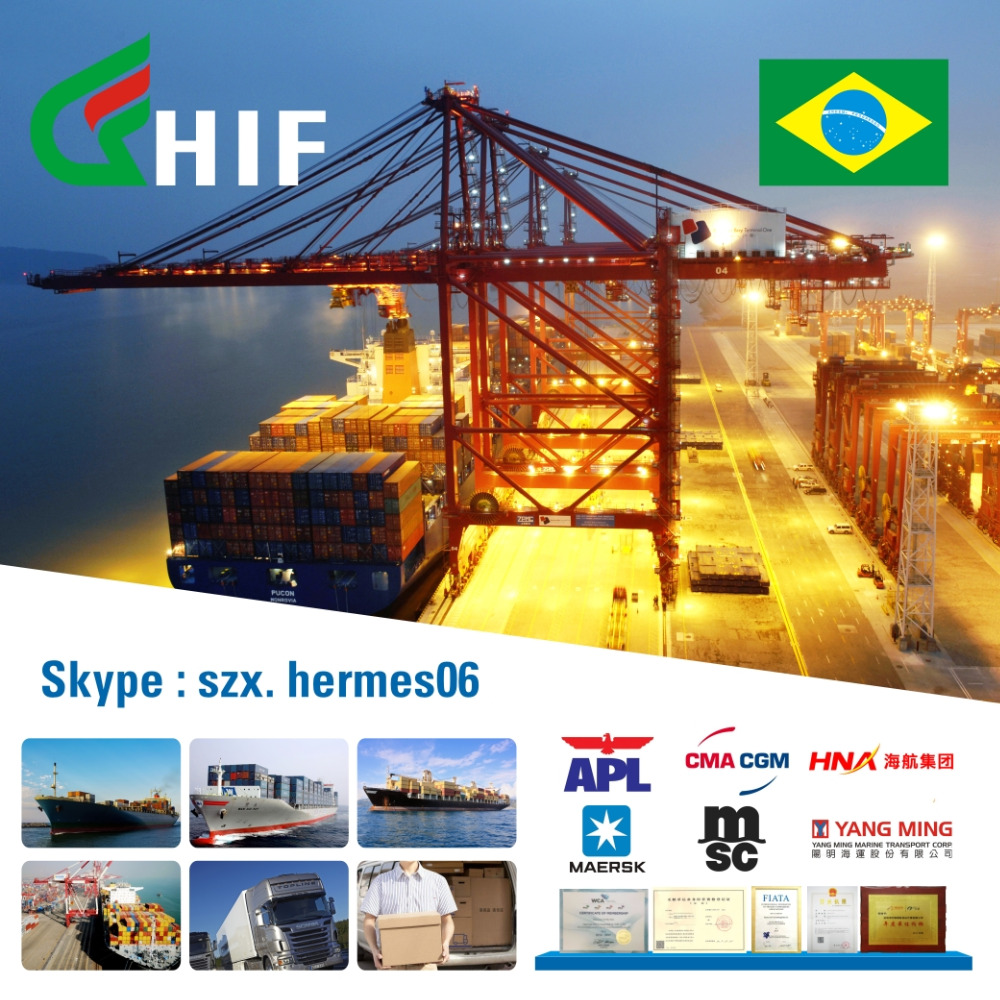 harbor freight transportation import goods from china to brazil