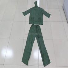 hot sale adult pvc lightweight raincoat with pants