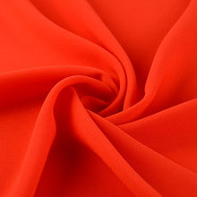 Wholesale High-Elastic Crepe Count Polyester Pure Silk Crinkle Dubai Chiffon Fabric