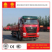 China CNHTC heavy duty truck 8*4 13 wheel dump truck capacity for sale