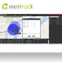 Meitrack google maps gps car tracking system for Fleet Management