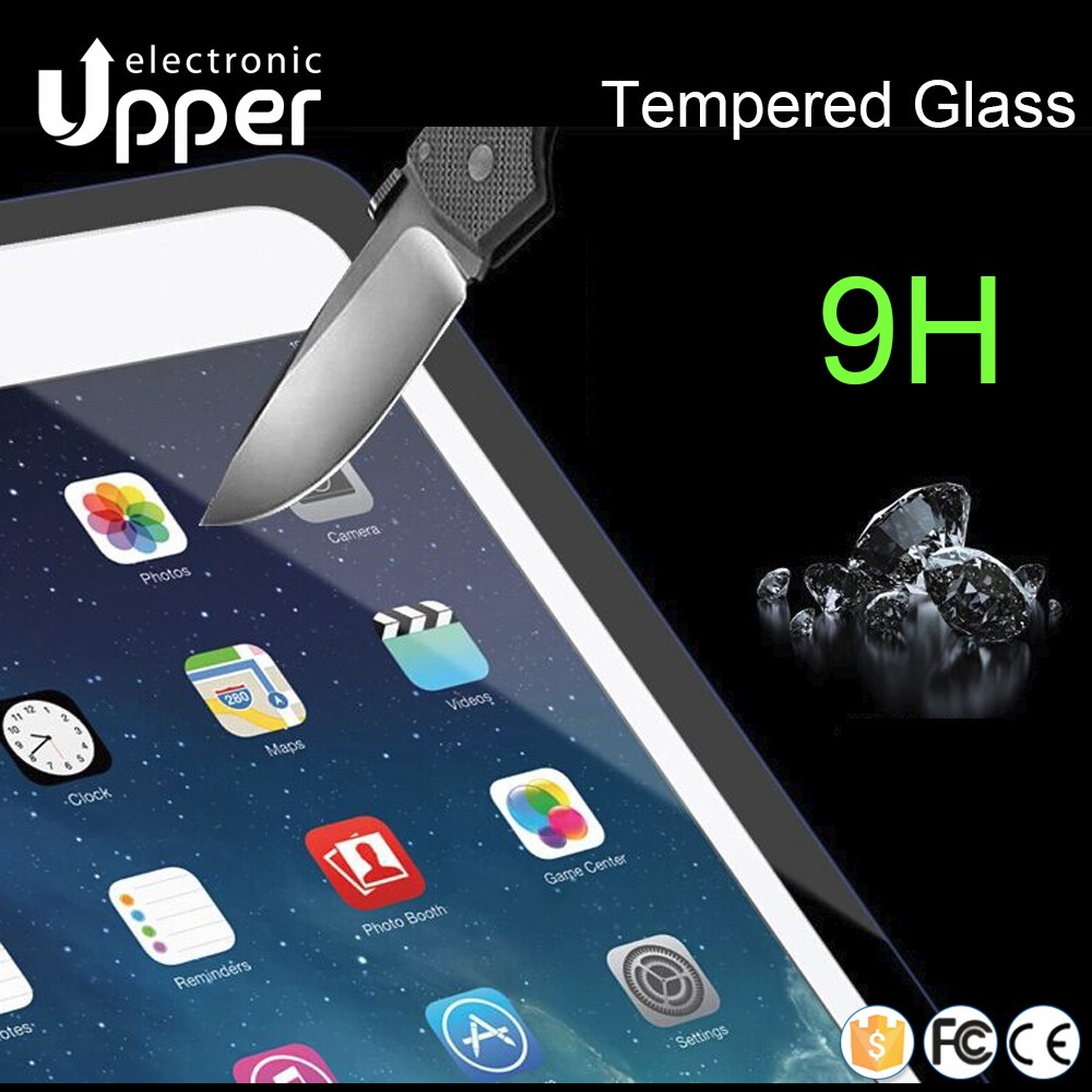 Anti-static anti-glare printing Korea computer laptop mirror tempered glass film screen protector for ipad mini/air