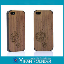 OEM Design Wooden Cellphone Case Accessory , Phone Case Wood For iPhone 5s
