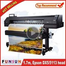 High proformance Funsunjet FS1700K dye sublimation t-shirt printing machine