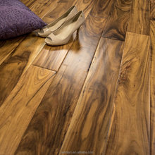 Stylish Small Leaf Acacia Hand Scraped Engineered Hardwood Flooring