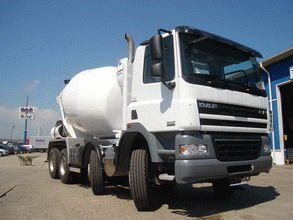 DAF concrete mixer truck 8x4 CF 85.360 with Stetter or CIFA mixer unit