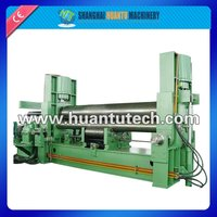W11S Hydraulic roll bending machine , sheet metal cone rolling , bending pipe machine
