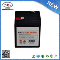 6V lifepo4 battery 4.5ah to replace 6v4ah lead acid battery