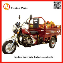 new type medium heavy duty 3 wheel cargo tricyle three wheeled motorcycle