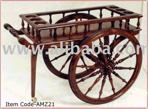 Bar Barrel Cart