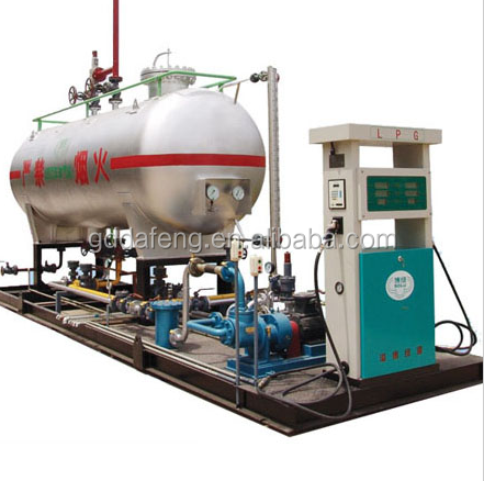 mobile lpg container gas filling station manufacturer