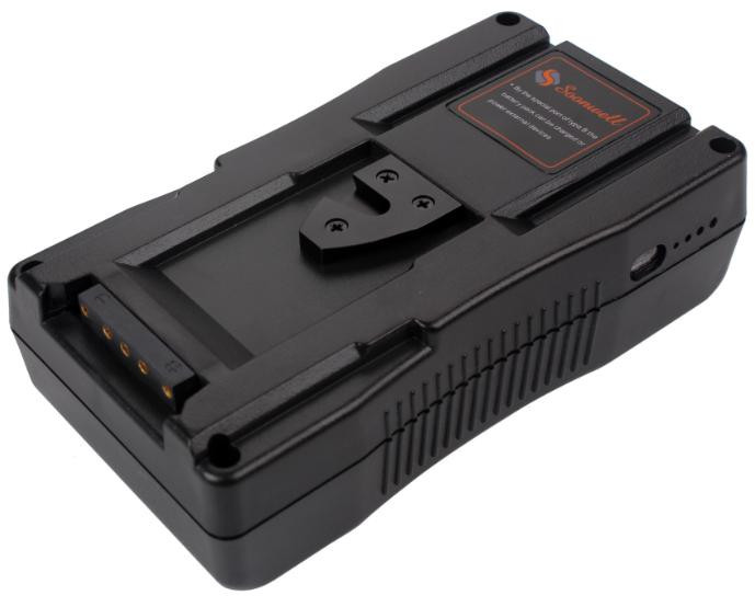 V Mount DSLR Camera Professional Camcorder Battery 130Wh 14.8v 18A Max Draw