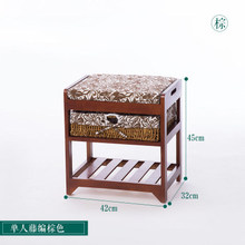 Bamboo and Wood Shower Stool Bench/Homex_FSC/BSCI Factory