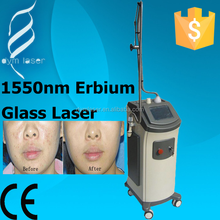2015 best selling product in europe medical laser 1550nm erbium glass laser for dilute the stain
