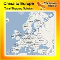 International logistics ship from China to Austria