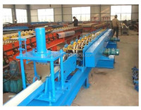 aluminium downpipe gutter and roofing tile cold roll forming machine