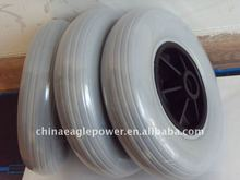 200mm PU wheel ---wheelchair