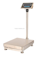 industrial digital price computing bench scale type TCS electroinic platform weighing scales 60-600kg with big LED/LCD display