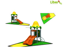 Liben professional plastic outdoor children playground equipment