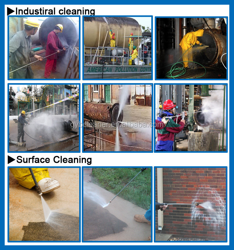 high pressure water jetting cleaning machine high pressure cleaner sewer pipe cleaning