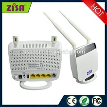 300M 2*2 WiFi High Performance 4Port ADSL2+ Router modem