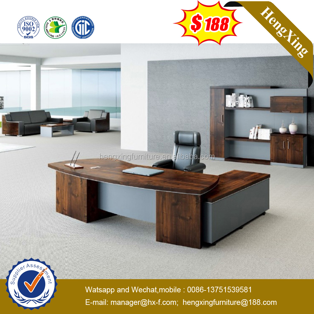 Luxury wooden office table designs modern office furniture ( HX-5N014)
