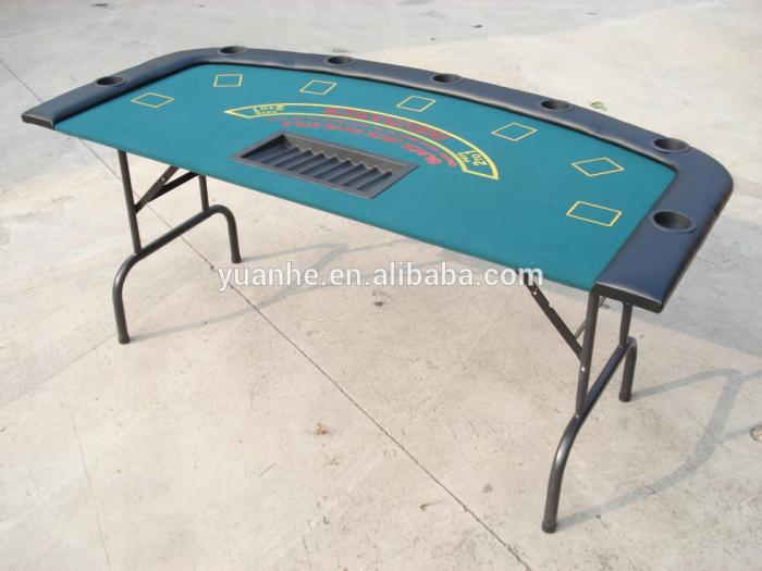 Tabela dobrável do pôquer do blackjack do casino 72 '' para a venda