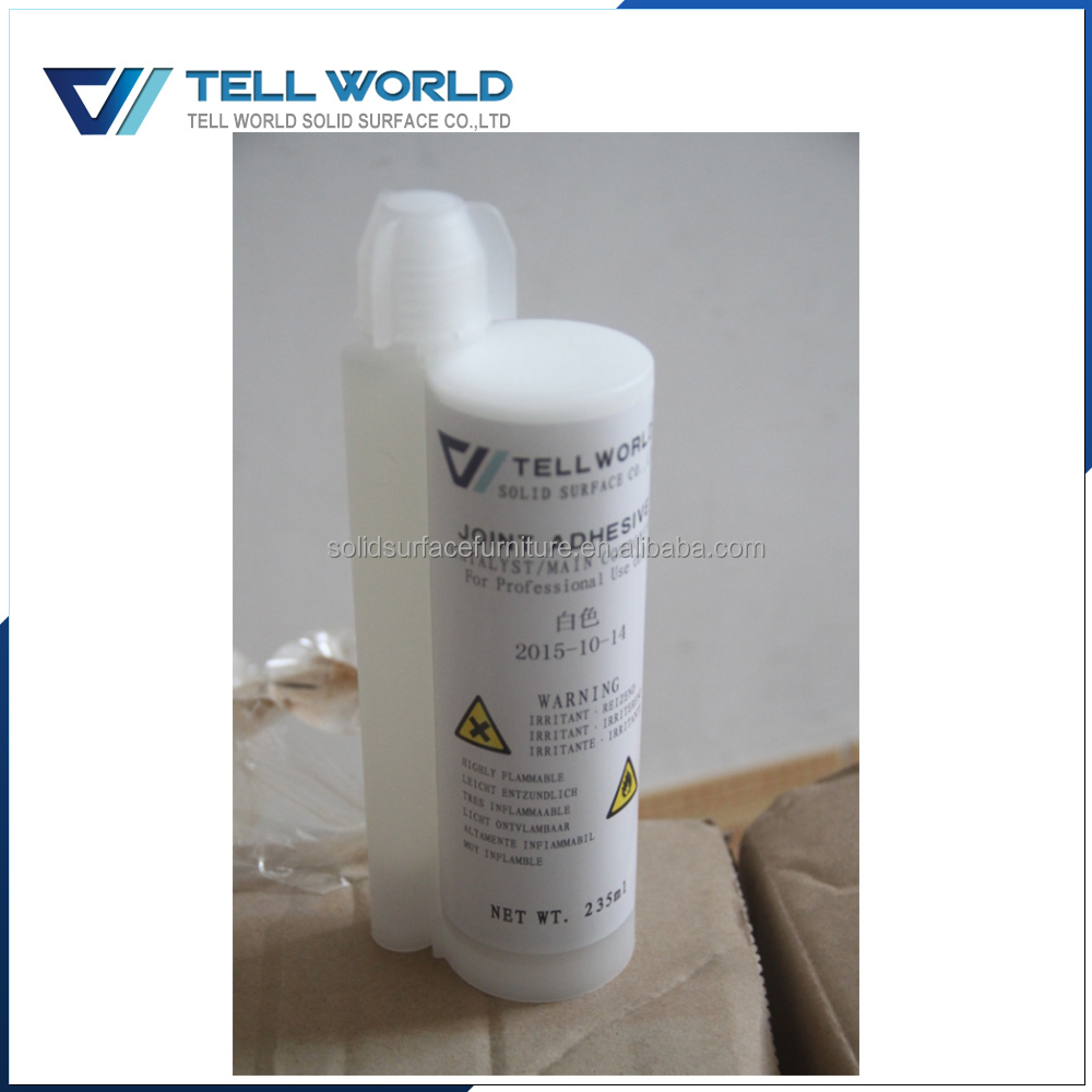 Artificial marble stone countertop glue acrylic solid surface joint adhesive