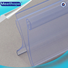 Plastic Price Label Holder Strip for Supermarket with Hard PVC