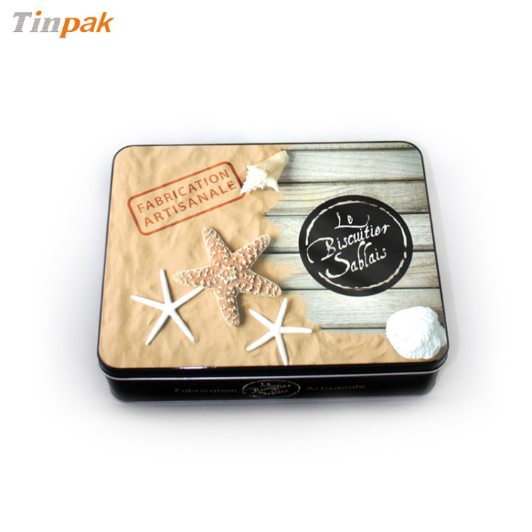 tin custom packaging box metal kids cd cases