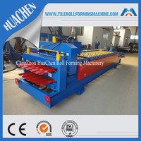 Popular Used in Africa Double Profile Metal Roofing Sheet Making Machine, Cold Roll Forming Machine