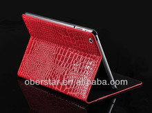 New Lofty Crocodile Grain Ultra-thin Smart Dormancy Shell Case For iPad2/3/4