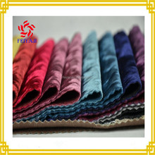 100 Polyester Shining Korean Crushed Velvet Fabric For Home Textile Garment Sofa