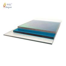 Plastic building materials solid polycarbonate awning sheet