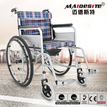 Used hospital manual wheel chair with high back wheelchair
