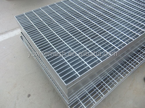 Free sample Anping manufacturer 30x100 galvanized cast iron steel grating