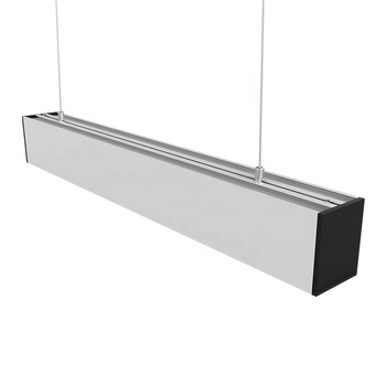 Easy installation for seamless linkable LED linear light Donor type 30W for office lighting