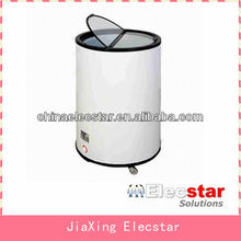 Can Shaped Engergy Drink Fridge Round Beverage Freezer Barrel Machine with Wheels in 40L, 50L and 85L