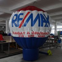 2015 popular promotion giant inflatable roof top balloon remax H3173