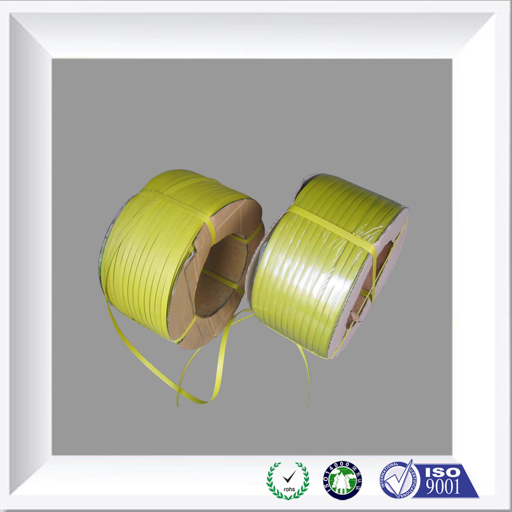 Widely Use Yellow Box Use PP or PET Packing Strap