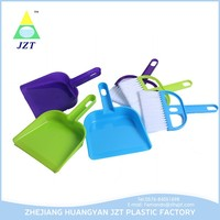 Customized Made Mini With Broom Plastic Printing Dustpan With Brush Set