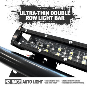 Universal High/ Low Beam 22Inch Offroad LED Light Bar 120w Slim Dual Row Work Lamp