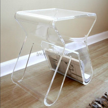 Special design custom clear acrylic dining chairs, acrylic chair for home or office