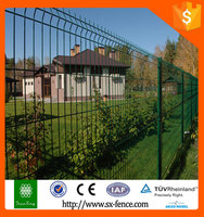 High quality curved welded wire mesh fence PVC coated wire mesh fence!!!