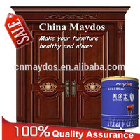 Wood polyester lacquer teak wood paint wooden doors coating
