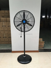 Industrial stand fan floor fan use in warehouse workshop