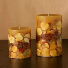 Beeswax Material and Flameless Feature Scented Candles