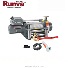 Runva High Quality Ce Approved High Efficiency 12V Electric Capstan Winches for ATV Side by side