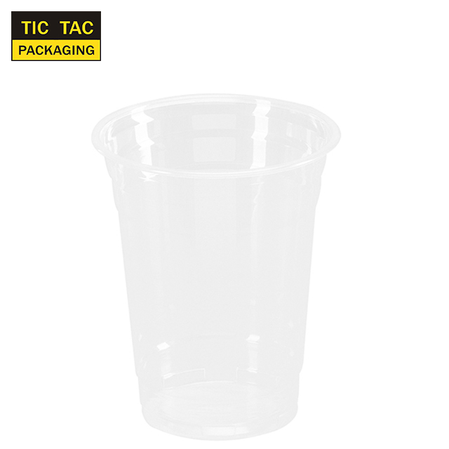 16oz disposable Plastic PET Cup for smoothie